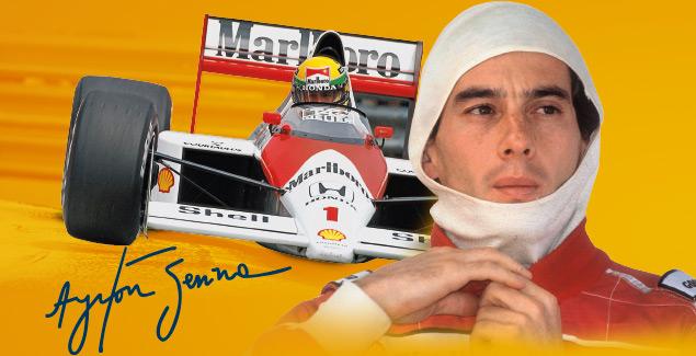 Ayrton Senna legendario