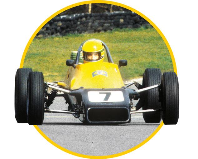 Primera victoria de Ayrton en monoplazas