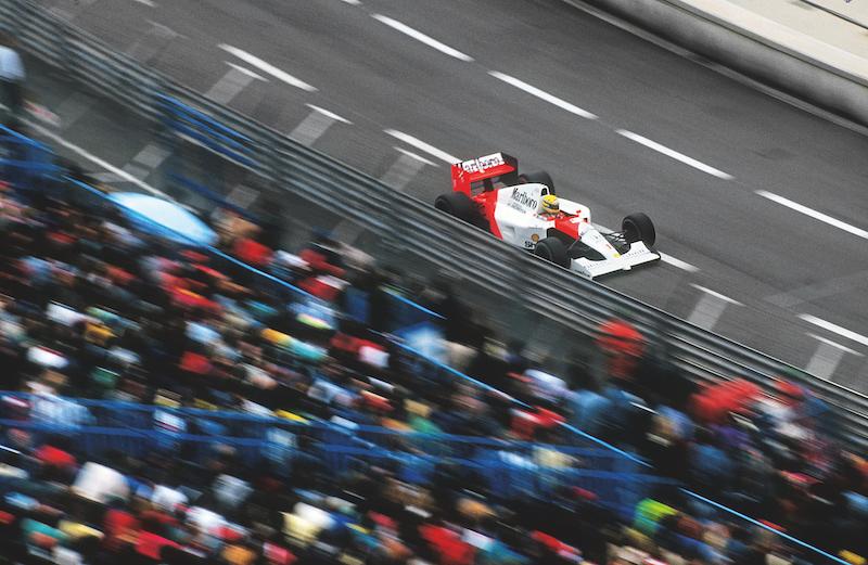 Senna, sinónimo de velocidad en Mónaco.