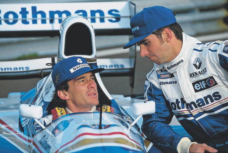 En 1994 llegó a Williams y tuvo de coequipero a Damon Hill.