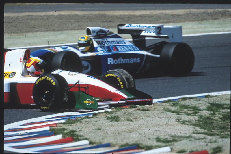 El GP del Pacífico en Aida, Japón, terminó en contacto aunque no con Beretta.