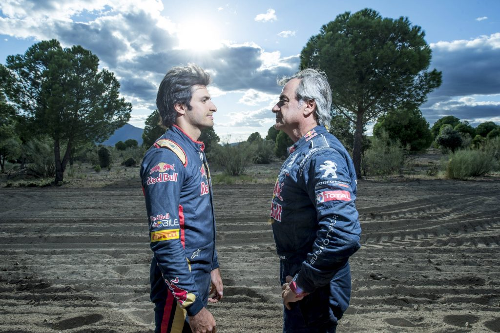 Carlos Sainz y Carlos Sainz Sr.