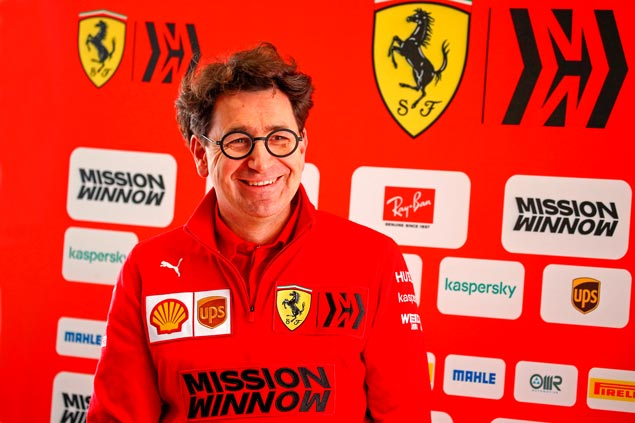 Mattia Binotto de Ferrari