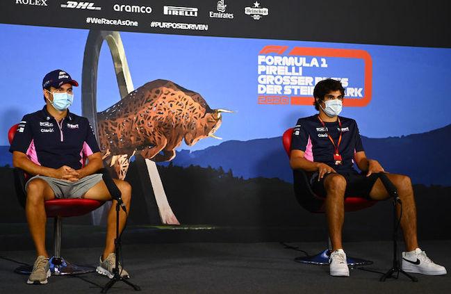 El mexicano mantiene su hegemonía sobre el dueño del equipo (FOTO: Racing Point F1 Team)