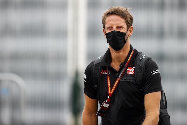 Dos semanas en Inglaterra le bastaron a Grosjean para darle la vuelta al danés (FOTO: Andy Hone/Haas F1 Team)