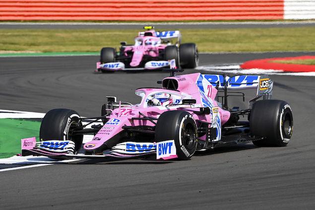La dupla de RP sumó 14 puntos en Silverstone 2 (FOTO: Racing Point F1 Team)