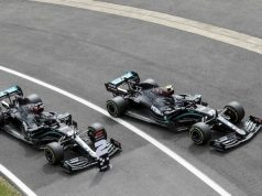 Hamilton Bottas (FOTO: Mercedes AMG F1)