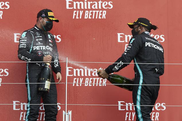 Hamilton volvió a ganar, pero esta vez no blanqueó a Bottas (FOTO: Steve Etherington/Mercedes AMG F1)