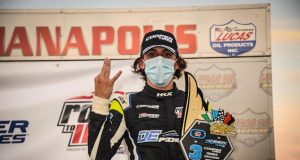 Sulaimán logra podio en Indy Pro 2000 (FOTO: Road to Indy)