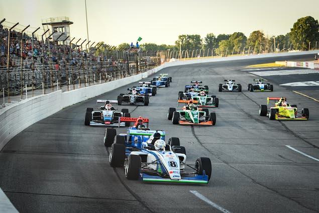 Sulaimán se destaca en Indy Pro 2000 (FOTO: Road to Indy)