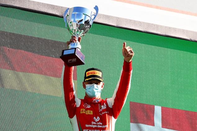 Schumacher gana F2 en Italia (FOTO: Bryn Lennon/FIA F2)