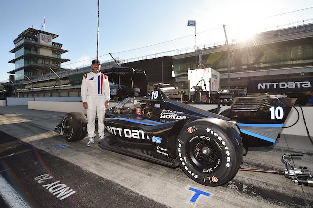 Johnson a IndyCar (FOTO: Chris Owens/IndyCar)