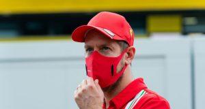 Vettel, a Aston Martin (FOTO: Scuderia Ferrari Press Office)