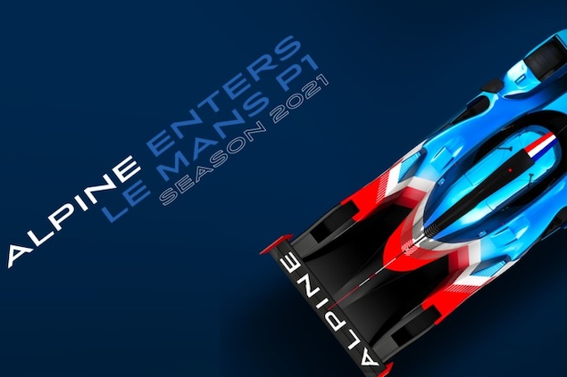 Alpine llegará a WEC LMP1 en 2021 (FOTO: Grupo Renault)