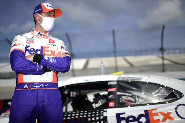 Hamlin, co-dueño de equipo (FOTO: Jared C. Tilton/NASCAR Media)