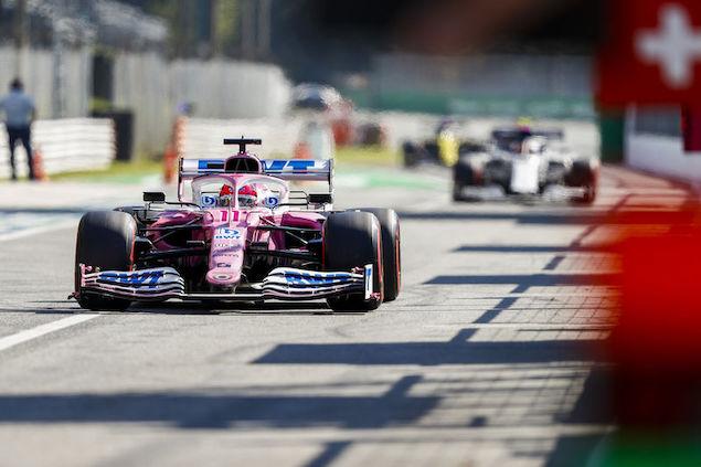 Checo saldrá cuarto en Monza (FOTO: Racing Point F1 Team)