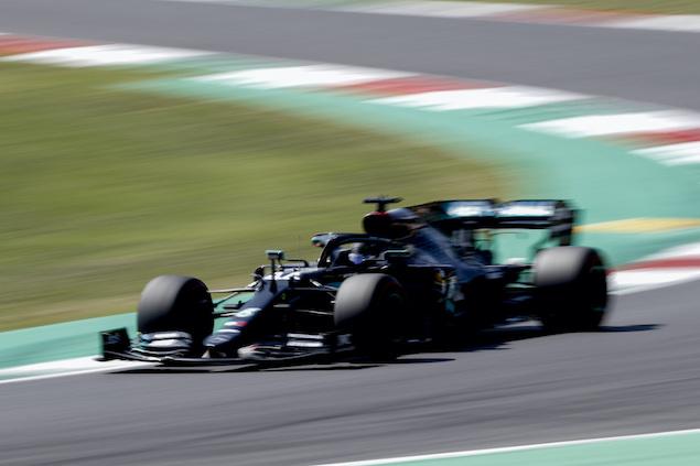PP de Hamilton en Mugello (FOTO: Wolfgang Wilhelm/Mercedes AMG F1)