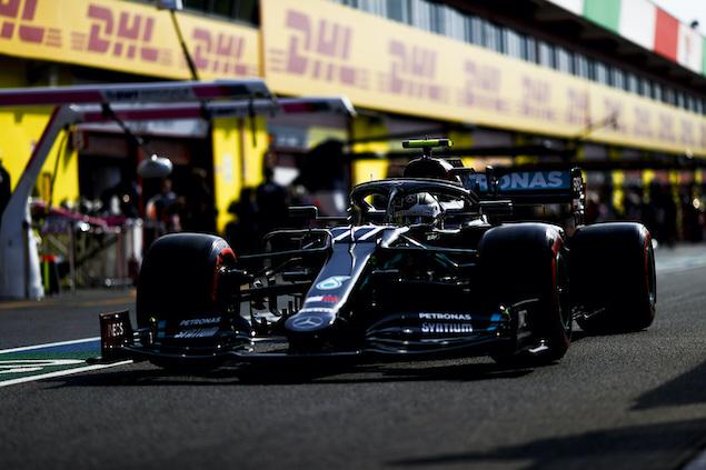Bottas, adelante en Mugello (FOTO: Mercedes AMG F1 Team)