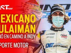 Sulaimán gana en Camino a Indy - Reporte Motor