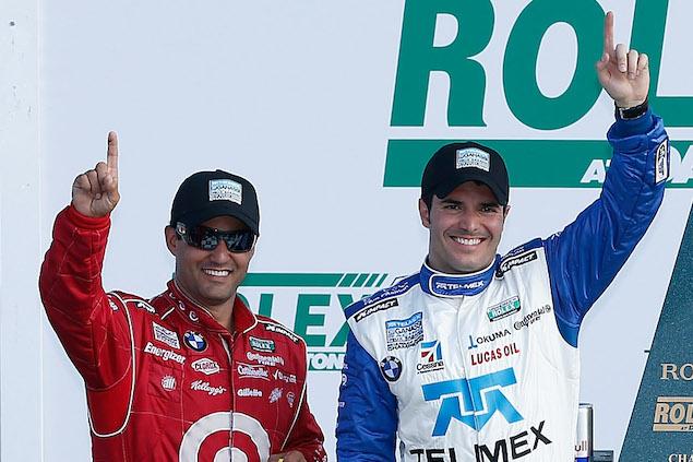 Montoya, coequipero de Rojas para Le Mans (FOTO: NASCAR Media)