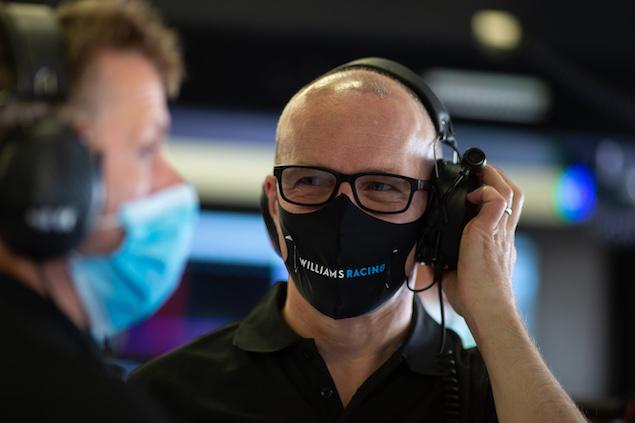 Simon Roberts, jefe interino de Williams (FOTO: Williams Racing)