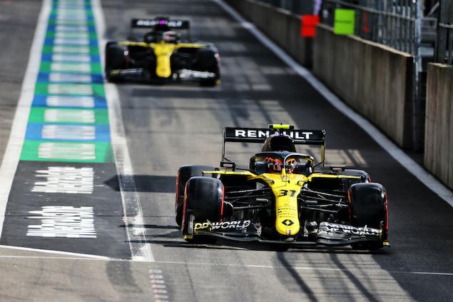 Impulso de Renault rumbo a Monza (FOTO: Renault F1 Team)