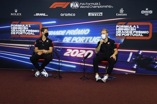 Con el castigo a Grosjean, Kevin fue capaz de ganarle el fin de semana al francés (FOTO: FIA Pool/Haas F1 Team)