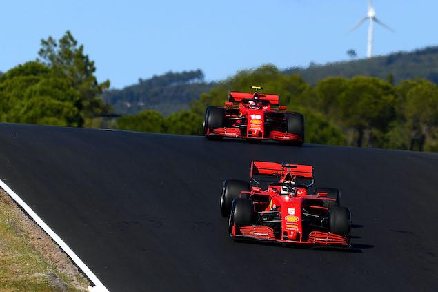 Binotto asegura que ambos tienen el mismo auto, ¿será? FOTO: Scuderia Ferrari Press Office
