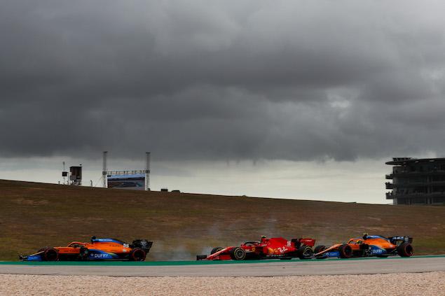Volvió a liderar, y aunque no ganó, Sainz se llevó el fin de semana sobre Norris (FOTO: McLaren Media Centre)