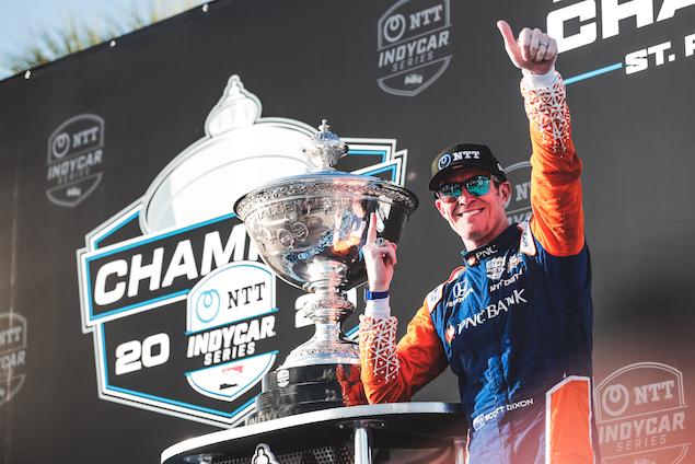 Dixon, hexacampeón (FOTO: Joe Skibinski/IndyCar)