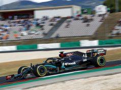 PP de Hamilton en Portugal (FOTO: Mercedes AMG F1 Team)