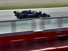 PP de Bottas en Imola (FOTO: Steve Etherington/Mercedes AMG F1)