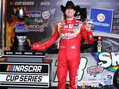 Kyle Busch gana en Texas (FOTO: Chris Graythen/NASCAR Media)