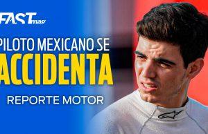 Raúl Guzmán se accidenta en Spa - REPORTE MOTOR Ep. 17