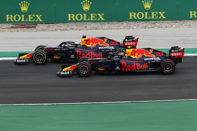 Se ve complicado que Albon le gane alguna calificación a Verstappen (FOTO: Armando Franca/Red Bull Content Pool)