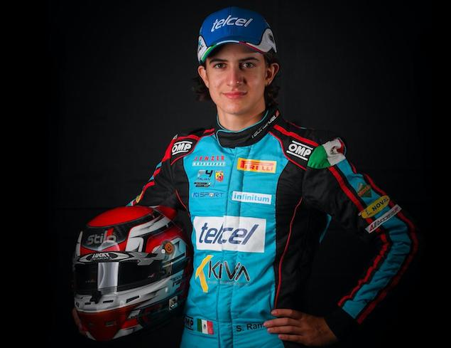 Completa Santiago Ramos, piloto de Escudería Telmex, final mundial por un lugar en Ferrari Driver Academy