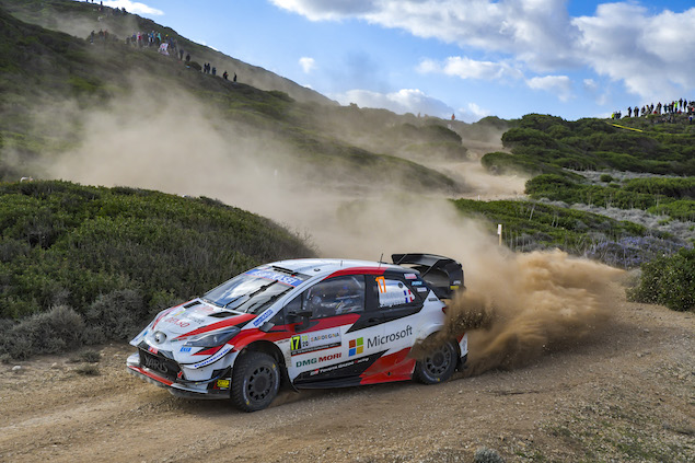Bélgica se canceló (FOTO: Toyota Gazoo Racing WRC)