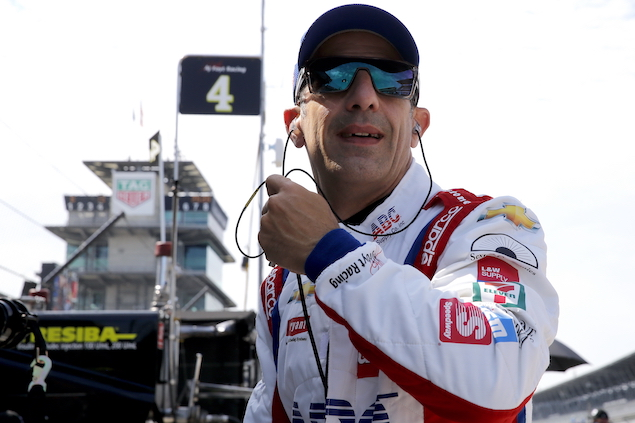 Kanaan no se retira de IndyCar (FOTO: IndyCar)