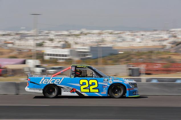 Andrés Pérez de Lara está a un paso de consagrarse en la serie de Camionetas de NASCAR México (FOTO: FB y BOHN Mikel's Trucks)