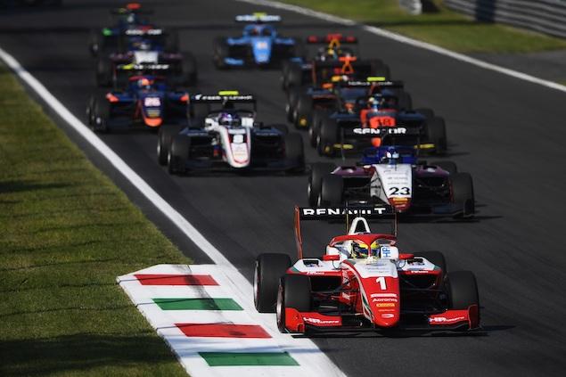 Cambios en F2 y F3 para 2021 (FOTO: Rudy Carezzevoli/Media Formula 3)