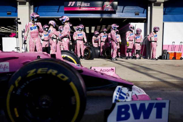 24 GP's podría generar más exigencia en mecánicos (FOTO: Racing Point F1 Team)