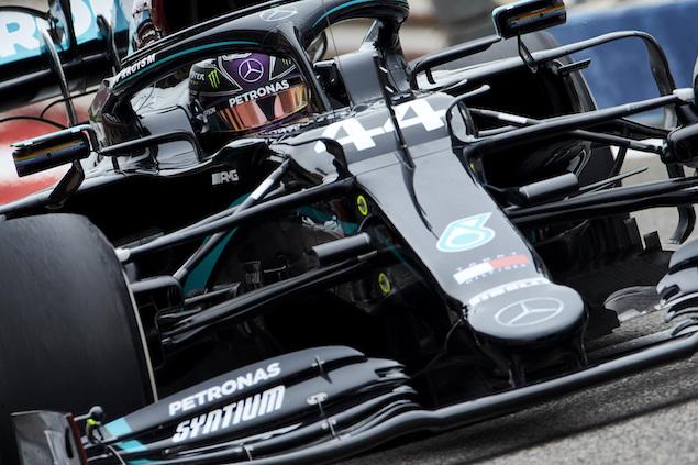 Lewis dominó el viernes (FOTO: Steve Etherington/Mercedes AMG F1 Team)
