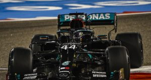 La PP en Bahrein fue de Hamilton (FOTO: Mercedes AMG F1 Team)