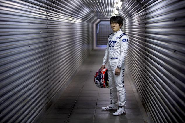 Yuki Tsunoda probó en Imola (FOTO: Josh Kruse/Scuderia AlphaTauri/Red Bull Content Pool)