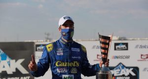 García, ganador en Querétaro (FOTO: NASCAR México)