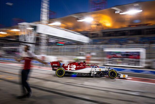Cosas de F1 en juego (FOTO: Alfa Romeo Racing)