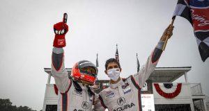 Helio Castroneves, Ricky Taylor y Team Penske se quedaron con el título de IMSA DPi (FOTO: Acura)