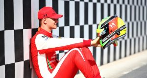 Mick Schumacher (FOTO: Joe Portlock/Formula 2)