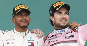 A Hamilton le emociona la llegada de Pérez a Red Bull (FOTO: Pirelli Motorsport)