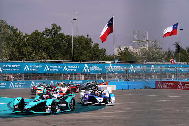 Fórmula E: ePrix de Santiago se pospone por COVID-19 (FOTO: FIA Fórmula E)